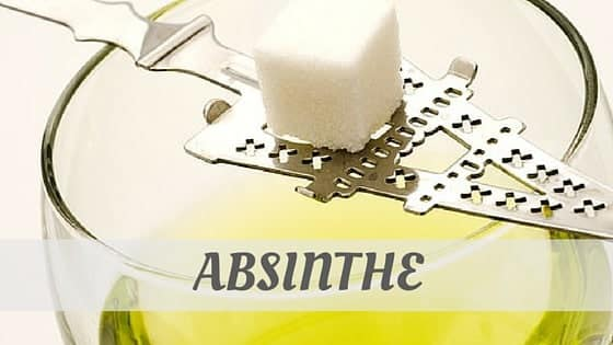 Absinthe?