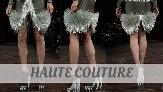 Haute Couture?